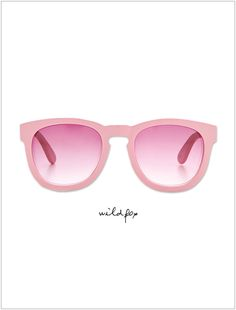 Wildfox sunnies in PINK... My fave!