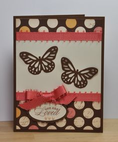 CTMH Butterly card