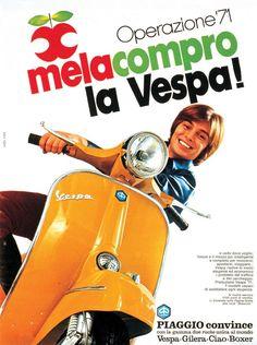Publicité Vespa Financement
