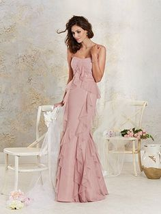 Style 8620L | Modern Vintage Bridesmaids | Alfred Angelo