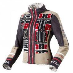 Veste doublé fausse fourrure Colors Degré7 Shawnees motifs Inuits