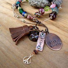 Love My Art Jewelry: DIY Trendsetting: Leather Tassels