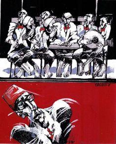 Syria Art - Saad Yaagan
