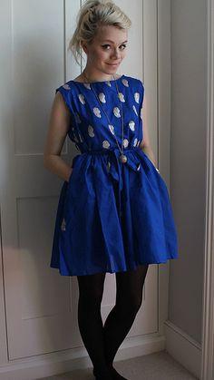 DIY summer dress.