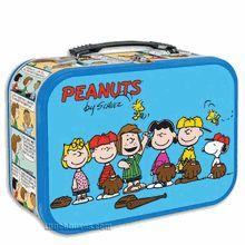 Peanuts Metal Lunch Box