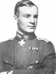 Heinrich Gontermann (25 February 1896 – 30 October 1917) was a German WWI fighter ace credited with 39 victories during the war. Gontermann was also promoted to Staffelführer of Prussian Jagdstaffel 15. Gontermann was only one of several German pilots killed testing the new Dr.I. As a result, Fokker was accused of shoddy construction and directed to change production methods for the manufacture of the plane.