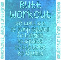#Butt #ButtWorkout #GetFit