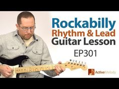 """In this week's rockabilly guitar lesson, I""""ll show you how to take advantage of the CAGED system and play those classic Rockabilly / Western Swing chords all. Lead Guitar Lessons, Blues Guitar Lessons, Acoustic Guitar Lessons, Guitar Tips, Music Theory Guitar, Music Guitar, Playing Guitar, Learning Guitar, Box Guitar"""