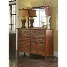 Amaury Dresser & Mirror  $1,147.77 Sku:136046 Dimensions:60Wx18Dx75.75H The Amaury is a modern collection with a touch of shaker style, this collection does not sacrifice function for aesthetic appeal, the Amaury offers ample storage throughout, with full extension ball baring drawer glides on all drawers so you will be able to access your belongings with ease. Please visit our website for warranty and benefits.