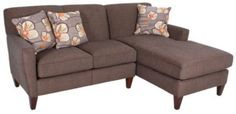 Homemakers Furniture: 2 Piece Sectional: England: Living Room: Sectionals