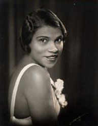 Marian Anderson. (Contralto and one of the most celebrated singers of the twentieth century. Her voice was a rich, vibrant contralto of intrinsic beauty. She was initiated as as honory member of Alpha Kappa Alpha Sorority, Inc. in 1978)