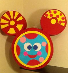Oh Toodles. Piñata. Mickey mouse piñata. Club house por aldimyshop