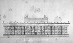 Karl Friedrich Schinkel, Altes Museum, Berlin, 1830.