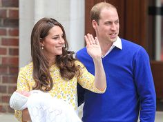 Princess Charlotte's Oh-So-Adorable Baby Album | HER ROYAL DEBUT | When: May 2, 2015  Where: The Lindo Wing at St. Mary's Hospital