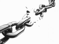 Learn how to implement a sustainable broken link building campaign so you can provide additional value to resource pages and build links at the same time. Hawke Dragon Age, Chain Tattoo, Broken Link, Bild Tattoos, Broken Chain, Break Free, Tatting, Freedom, Mindfulness