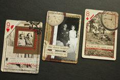 Vintage Photo ATCs