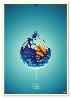Let It glow by DSORDER , via Behance