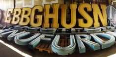 BUCHSTABEN MUSEUM – MUSEUM OF LETTERS. VERY MUCH WANT TO SEE. #typography