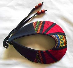 African Patchwork Collar