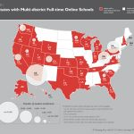 States with online teaching