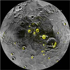 Mercury ice water discovery bodes well for alien life search (Photo: NASA)