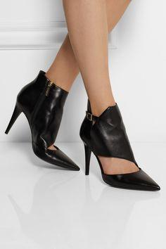 Tamara Mellon|Madness cutout leather ankle boots|NET-A-PORTER.COM