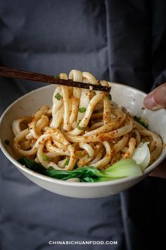 Two methods of making Chinese style easier hand pulled noodles Asian Noodle Recipes, Asian Recipes, Indonesian Recipes, Orange Recipes, Healthy Dinner Recipes, Vegetarian Recipes, Cooking Recipes, Cooking Tips, Gourmet