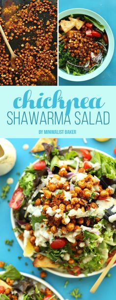 Chickpea Shawarma Salad | Here's What You Should Eat For Dinner This Week