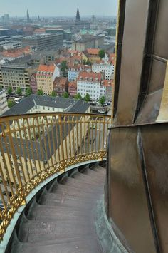 I have this thing for towers (well, any high place really) and came to Copenhagen knowing I wanted to climb the stairs that spiral around the exterior of the tower of Vor Frelsers Kirke.It looks pr…