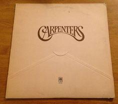 The Carpenters Self Titled LP 1971 A&M Envelope Vinyl Record Canada IMPORT #1970sChansonEasyListeningPopRockSingerSongwriterSoftRockTraditionalVocal