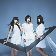Perfume - J.Pop band. This is their picture for the triangle album.