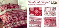 Este fim de semana aproveite para começar as suas manualidades de Natal! Tecidos Winter Essentials: http://www.luisguarda.pt/produtos/winter-essential/page/2