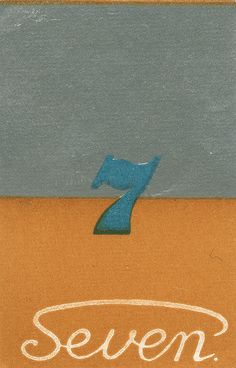 Japanese matchbox label number seven by Jane McDevitt, 2009 via Flickr