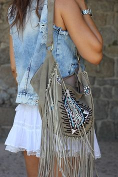 #MJB So #Boho #Chic #Must-Have Fringe is always Trending ♡Love It's Love♡