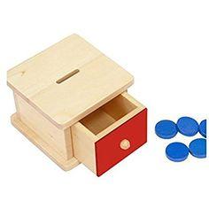 Amazon.com: Montessori Infant Coin Box: Toys & Games