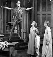Peter Pan - Mary Martin - This was on the TV every year.