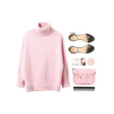 """""""irony"""" by theglampedia ❤ liked on Polyvore featuring Korres, The Cambridge Satchel Company, GHD and springscent"""
