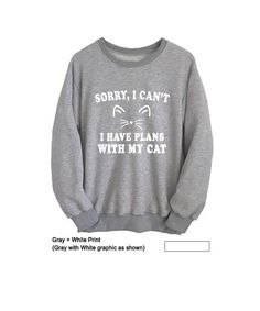 Funny Cat Sweatshirt for Women Men Unisex Outfits for Teen Sweater Jumper #cat sweatshirt #cat shirt #humor #cat lover gift #sweatshirts #sweatshirts for teens #cute #funny sweatshirts #jumpers #teen #swag #dope #party #women #men #girls #boys #casual #style #long sleeve #fashion #crewneck #jumper #school parties #brandyusa #forever 21 #awesome #winter #fall #Tumblr #christmas gifts #gray #oversized #pullover #hoodie #unique #college #outfit #comfy