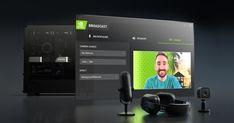 Mit der NVIDIA Broadcast-App bringst du Livestreams, Voice- und Video-Chats auf die nächste Ebene. Software Development Kit, Keyboard Typing, Voice Chat, Background Noise, I Am Game, Filters, Apps, 1, Download