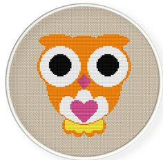 Owl cross stitch ,Buy 4 get 1 free Cross stitch pattern by danceneedle on Etsy, $3.50