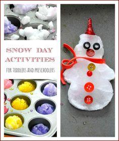Making snow cookies - good family fun activity