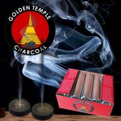 Houtskool tabletten 33mm Ideaal voor verbranding van wierook kruiden of salie. In een pak zitten 10 houtskool tabletten.