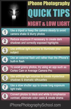 iPhone Night Quick Tips