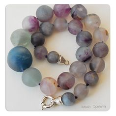 Fluorite Necklace @sunsan @piscesandfishes @GreekMythos