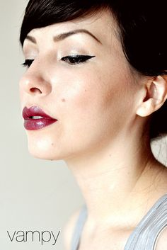 love this girls blog, especially this makeup style, i would maybe try it with a matte  lipstick :P