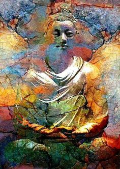Buddha abstract