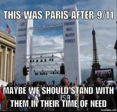 If you find yourself wondering why America should support France, here's why...