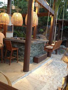 CocoMaya in Virgin Gorda.Tapa style restaurant in VirginGorda Virgin Gorda is one of my favorite places - really want to go back! Deco Restaurant, Luxury Restaurant, Outdoor Restaurant, Restaurant Design, Exterior Design, Interior And Exterior, Pool Bar, Cocktails Bar, Virgin Gorda