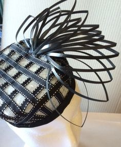 New Project with different materials JANITA MCCLOY #Millinery #hats #HatAcademy