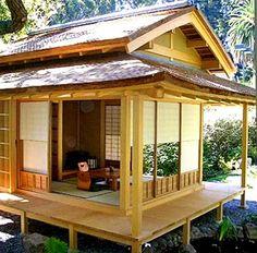 японский домик фото